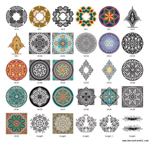 Pattern Arabesque Vector | islamic crafts for kids ehow