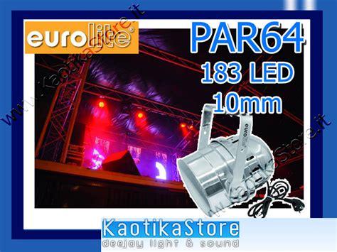 Proji Led U8 Mini By Multy L par led par 64 10mm dmx rgb faro discoteca luce dj ebay