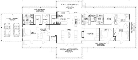 House Plans On Small Lot Queenslander Floor Plan Friday The Queenslander