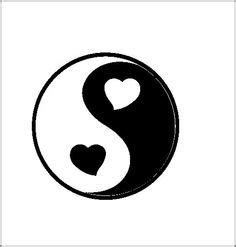 ying yang heart pictures to pin on pinterest tattooskid yin yang heart love and balance dreambigcollection com
