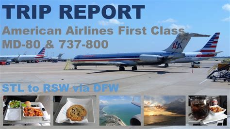 trip report american airlines class st louis