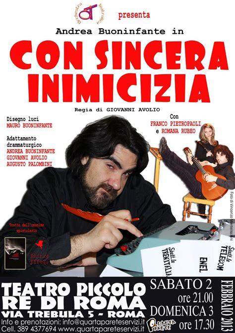 librerie giuridiche roma sbarca a roma presso il teatro piccolo re di roma quot con