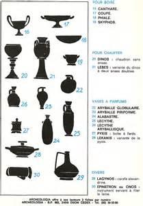 typologie des vases grecs arr 234 te ton char