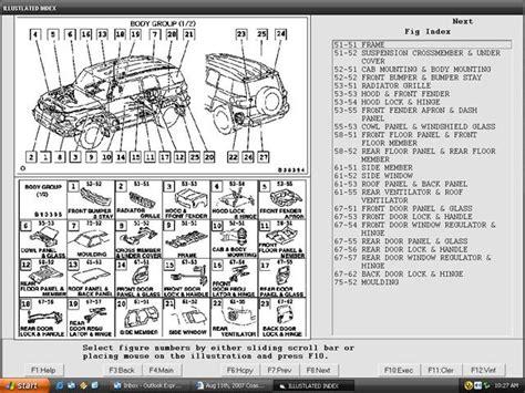 Toyota Parts Catalog Toyota Electronic Parts Catalogue Ih8mud Forum