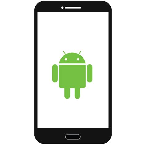 android phone symbols android smart phone icon icon search engine