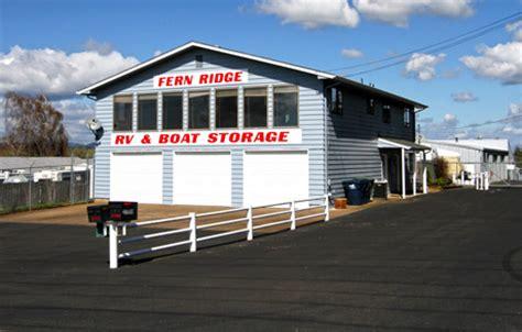 boat storage near eugene oregon junction city or storage fern ridge rv boat storage