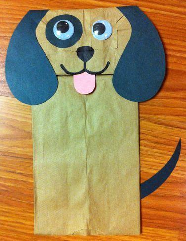 Paper Bag Puppet Craft - best 25 paper bag crafts ideas on paper bag