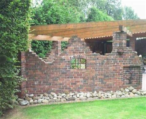 Ziegelsteinmauer Im Garten by Alte Ziegelsteinmauern Im Garten Alte Mauern Im Garten New