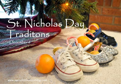 st nicholas tradition sweet ones st nicholas day traditions
