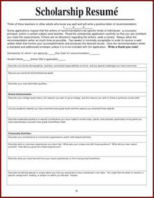 How To Write A Resume For Scholarships by How To List Scholarships On Resume Sles Of Resumes