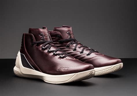 Armour Curry 3 March Madness 新聞分享 慶祝南卡羅來納大學晉級 ncaa 四強 armour 推出 curry 3 oxblood leather kenlu net