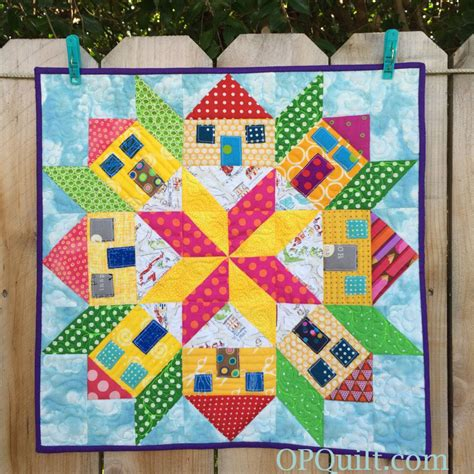 quilt pattern house free mini house quilt finished occasionalpiece quilt