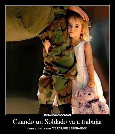 imagenes de amor a distancia de militares cuando un soldado va a trabajar desmotivaciones