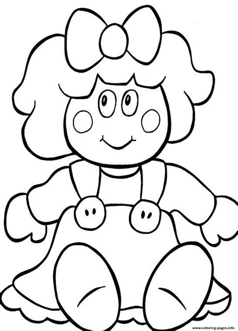 painting pages doll for present54f2 coloring pages printable