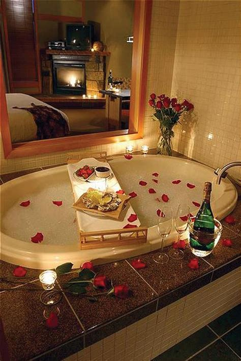 romantic bathtub ideas romantic bath with candles and rose petals another sexy