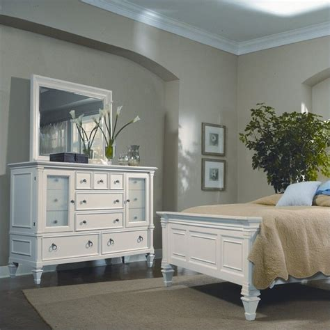 magnussen ashby bedroom set magnussen ashby 13 drawer dresser with landscape mirror