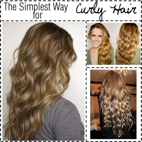 Curly Hairstyles For Long Hair No Heat | the simplest way for no heat curly hair curly hair hair