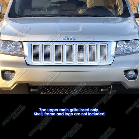 2013 Jeep Grand Grill Inserts Fits 2011 2013 Jeep Grand Stainless Steel Mesh