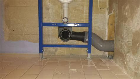 zwevend toilet afvoer afvoer hangend toilet aanpassen vastmaken standleiding 60