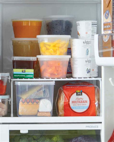 Shelf Of Refrigerated Foods by Bhg Style Spotters