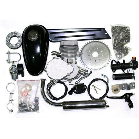 80cc Bicycle Engine Kits by 70cc 80cc Fully Ballanced Pk 80 40x47mm Silver 2