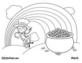 march coloring pages march color for ipods coloring pages