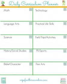 homeschool planner template free homeschool daily planner how we use it homeschool