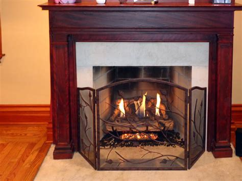 vent free gas logs american chimney fireplace