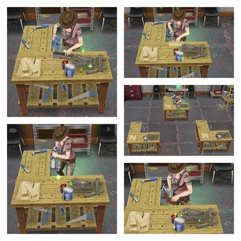 woodworking bench sims