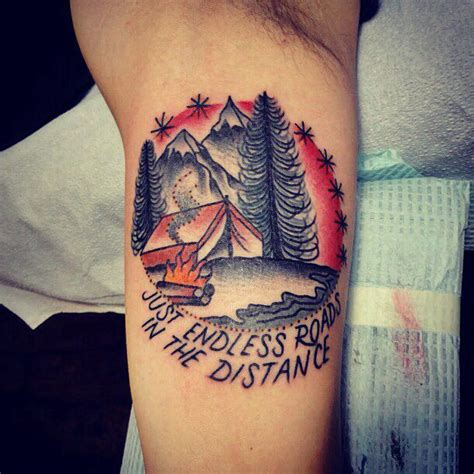 tent tattoo 17 best images about tattoos on fishing