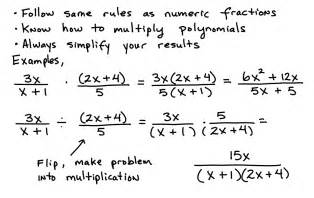 How to simplify rational expressions step by step the