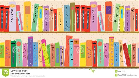 book shelf banner stock photo image 23911530