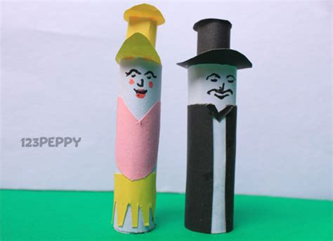 How To Make Puppets Out Of Paper - puppet crafts project ideas 123peppy