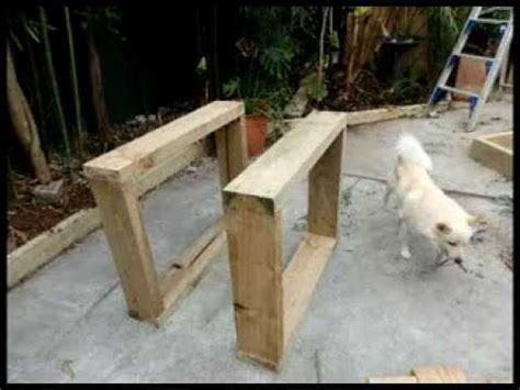 Railway Sleepers Bunnings by How To Install Our Modular Recycled Railway Sleeper