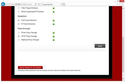 reset virgin superhub online virgin media superhub remote vpn issue it support and