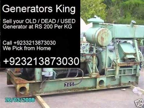 scrap used home generators generators buy sale in