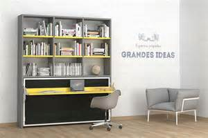 armoire lit bureau avec surmeuble