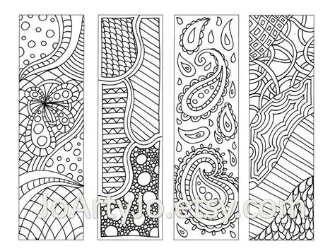 bookmarks to color coloring pages free printable bookmarks displaying