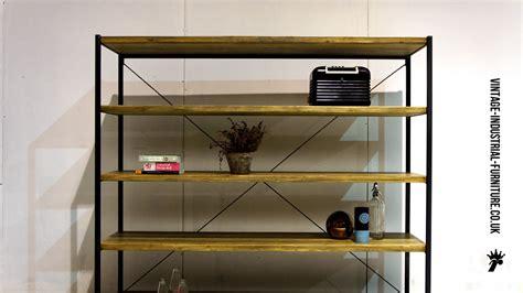 Uk Shelf Company by Large Vintage Industrial Shelving Unit