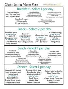 eat clean diet sle menu best diet solutions program
