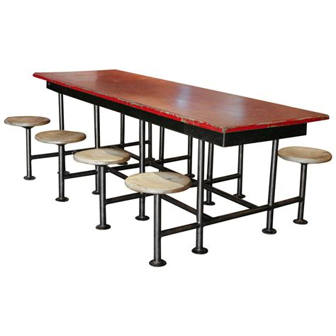 8 Person Dining Table Set A 8 Person Worktable At 1stdibs