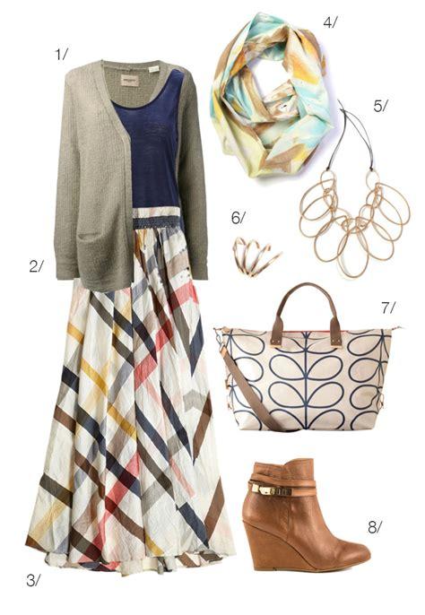 how to wear a maxi skirt in fall megan auman