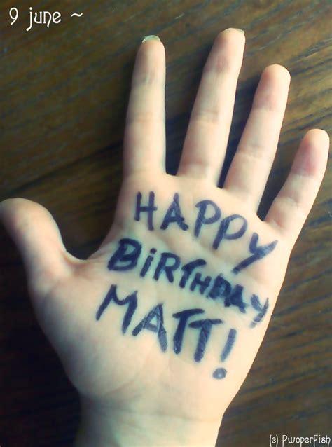 happy birthday matt happy birthday matt bellamy by pwoperfish on deviantart