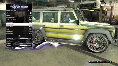 customized g wagon interior gta 5 fully customized benefactor dubster mercedes g