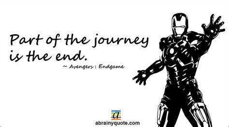 avengers endgame quotes part journey abrainyquote