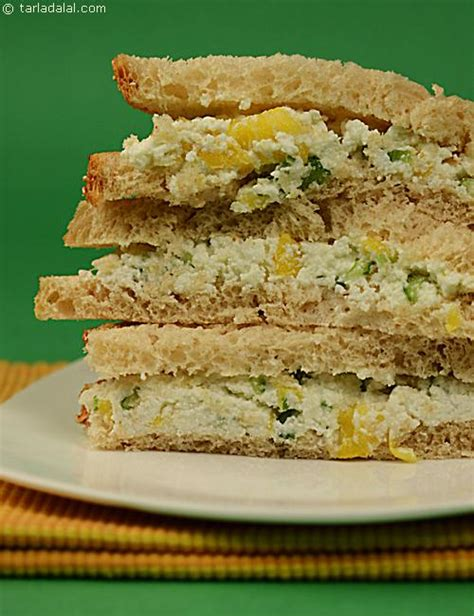 pineapple celery and cottage cheese sandwhich recipe