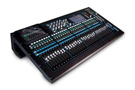 Mixer Audio Allen Heath allen heath qu 32c 38 in 28 out digital audio mixer chrome edition