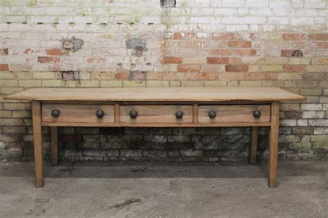 large 19th c west country kitchen table antiques atlas