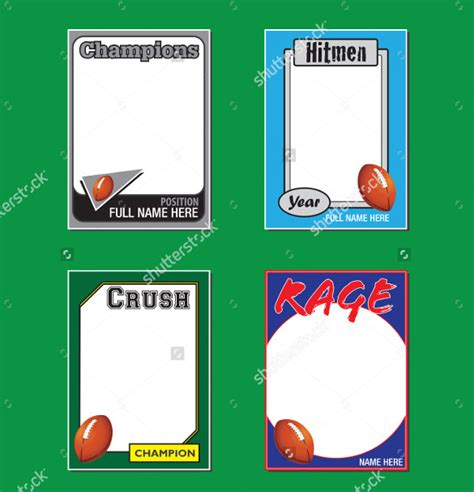 Free Sports Trading Card Templates by 33 Trading Card Template Word Pdf Psd Eps Free