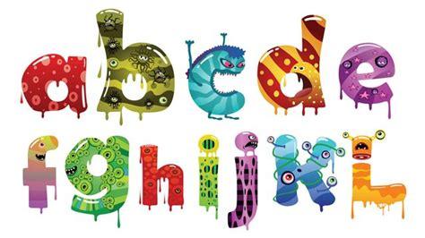 free printable monster alphabet letters free monster alphabet printable letters clipart